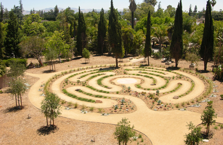 Labyrinth at Rosicrucian Park