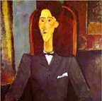 Jean Cocteau by Modigliani