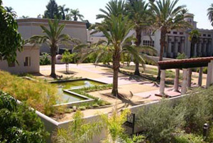 Peace Garden at Rosicrucian Park